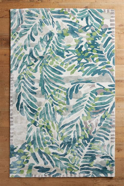 palm leaf rug palm rug everything turquoise