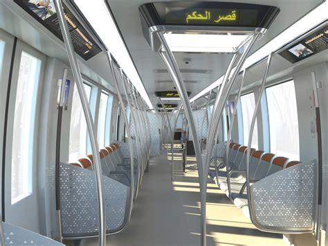 Metro Interiors by Riyadh Metro Orange Line Design Revealed Railway