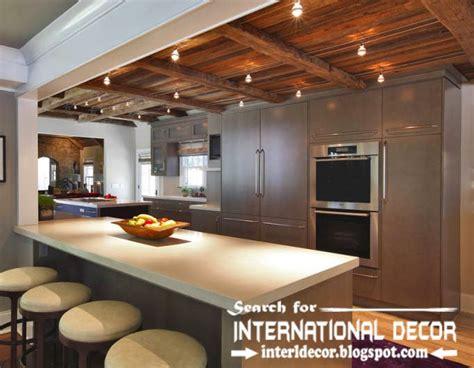 Largest album of modern kitchen ceiling designs, ideas