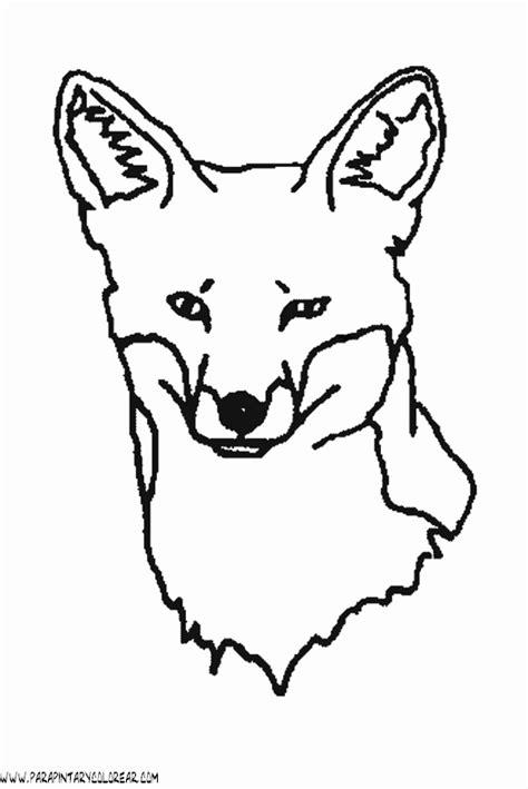 imagenes para dibujar de zorros dibujos de zorros 012