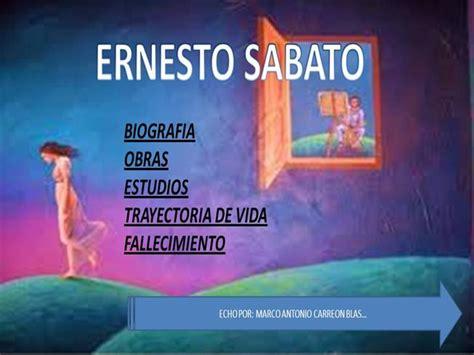 imagenes sensoriales de la novela el tunel ernesto sabato 1911 2011 authorstream
