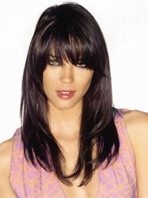 black hairstyles easy to manage 15 photo of black long hairstyles with bangs and layers