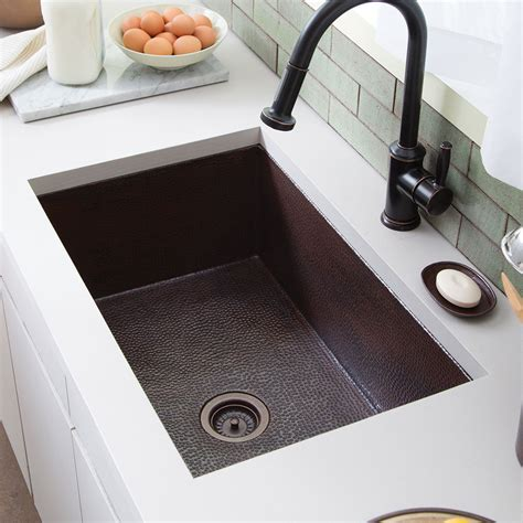 30 inch copper sink cocina 30 copper kitchen sink cpk293 trails