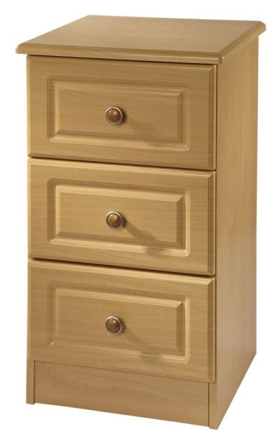 White 3 Drawer Bedside Cabinet by Welcome Pembroke White Bedside Cabinet 3 Drawer Bedside