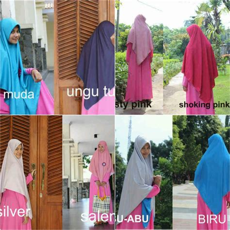 krudung khimar qny evany fashion provide muslimah stuff