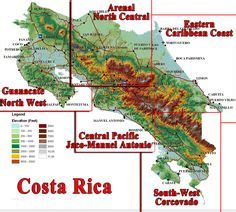 5 themes of geography costa rica 1000 images about relief on pinterest