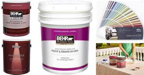 home depot new behr paint rebate available hip2save