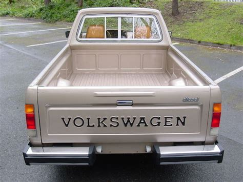 volkswagen truck diesel 1981 volkswagen rabbit pickup diesel german cars for