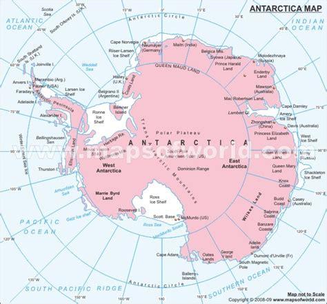 antarctica political map pin antarctica map maps on