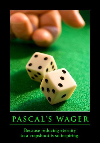 pascals wager continuing the conversation pascal s wager