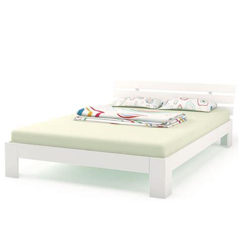 letto matrimoniale 140x200 legno letto matrimoniale 140 x 200 cm telaio letto a