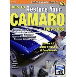 camaro restoration guides diy auto repair manuals camaro restoration guides diy auto repair manuals autos post