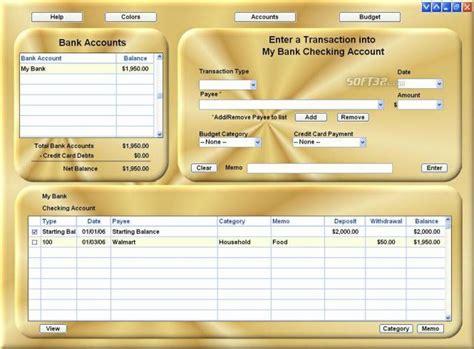 checkbook ease freeware    windows