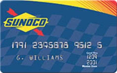 Sunoco Gas Gift Card - sunoco credit card review creditshout