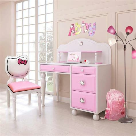 hello kitty couches girls desk cute girls desk pinterest girl desk