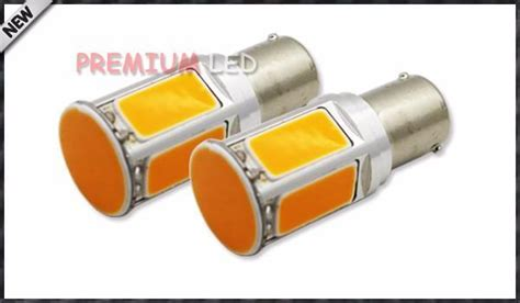led no resistor needed 2pcs no resistor required yellow cob led bau15s 7507 py21w 1156py led bulbs for front turn
