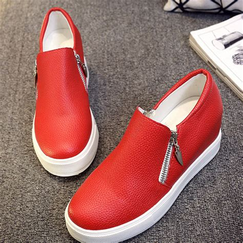 cheap shoe stores white platform flats shoes store slip on