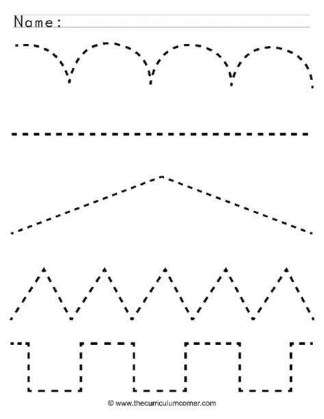 printable worksheets tracing lines free coloring pages of horizontal tracing line