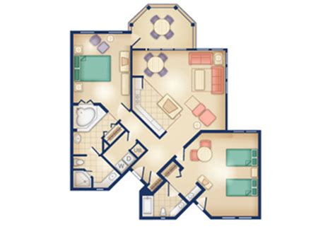 old key west two bedroom villa floor plan stunning disney old key west 2 bedroom villa contemporary