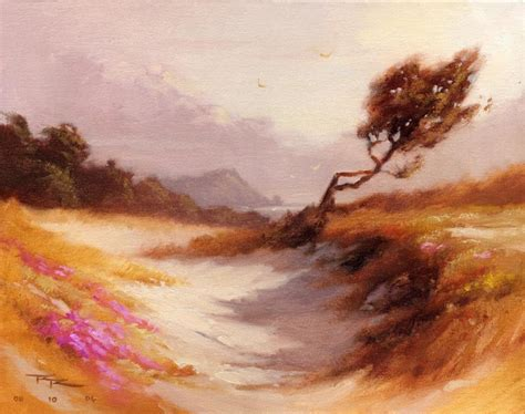 free painting lesson free landscape painting lesson winding path