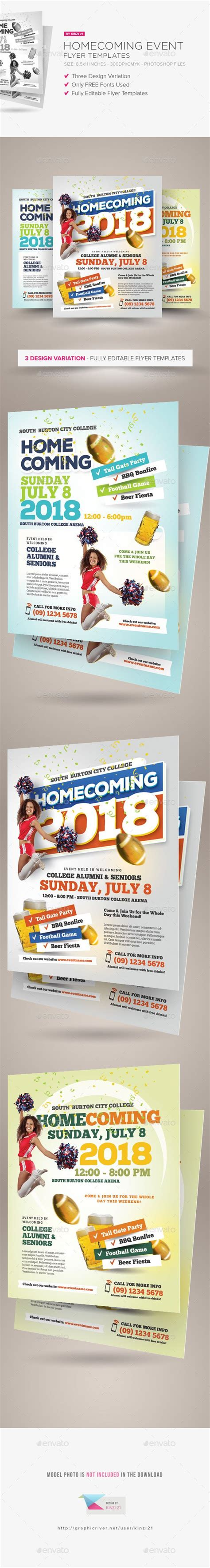 Homecoming Event Flyer Templates Event Flyer Templates Event Flyers And Flyer Template Homecoming Flyer Template