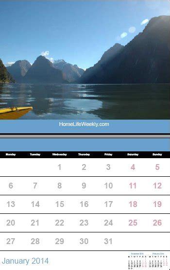 printable calendar 2014 171 home life weekly printable calendar 2014 171 home life weekly