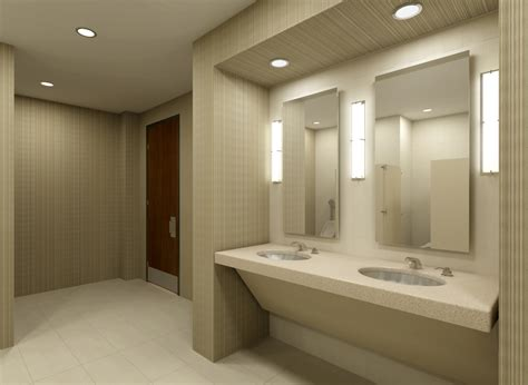 restroom design or by office bathroom design