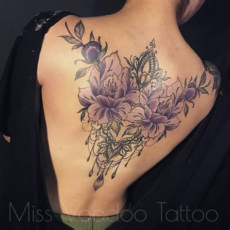 spine tattoos for ladies stunning floral back tattoos for tattoos