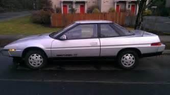 1986 Subaru Xt Wedgy 1986 Subaru Xt Turbo 4 215 4 Plus Bonus Dl