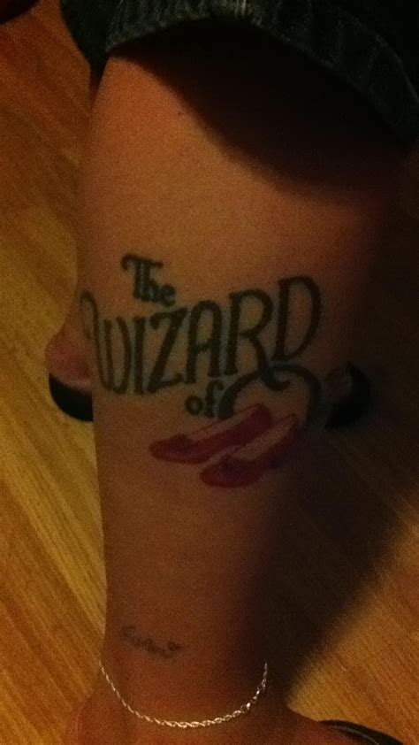wizard of oz tattoos wizard of oz cool tattoos