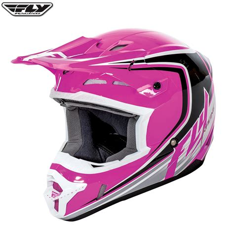 pink motocross gear 2016 fly racing kinetic full speed mx motocross helmet