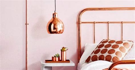 Copper Bedroom L by Low Hanging Bedside Copper Pendant Check Out Http