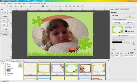 programma cornici foto photo frame studio freeware de