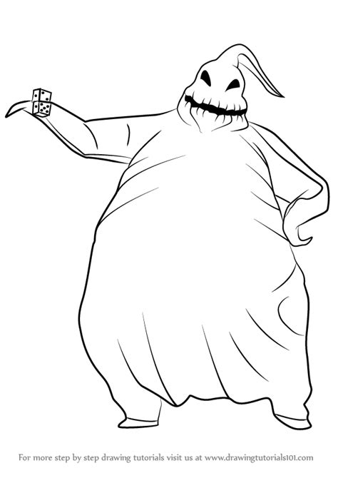 nightmare before christmas coloring pages oogie boogie learn how to draw oogie boogie from the nightmare before