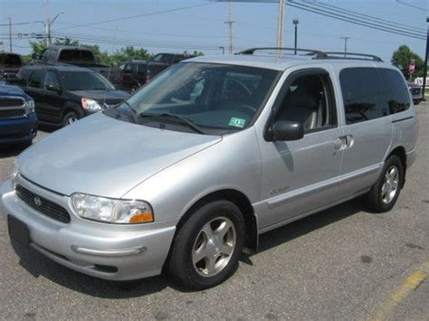 Sell Used 2000 Nissan Quest Se Mini Passenger 4 Door 3