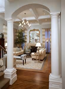 living room columns ava living classic living room by michael steiner