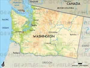 washington canada map geoatlas united states canada washington map city