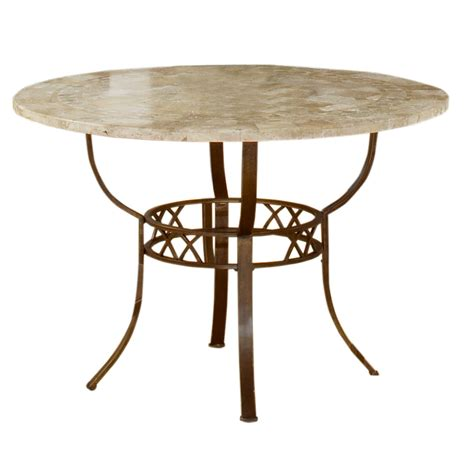Browning Glass Top And Brown Powder Coated Metal Dining Table By Greyson Living Free Shipping 19764815dtrnb 055