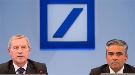 deutsche bank bilanz quartalszahlen deutsche bank macht 2 2 milliarden