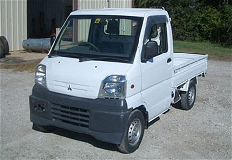 mitsubishi small truck commercial truck success small places need a tiny truck