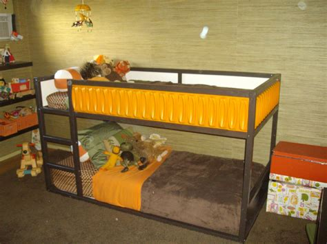 ikea bunk bed hack ikea hack kura bed different colors or chalk board
