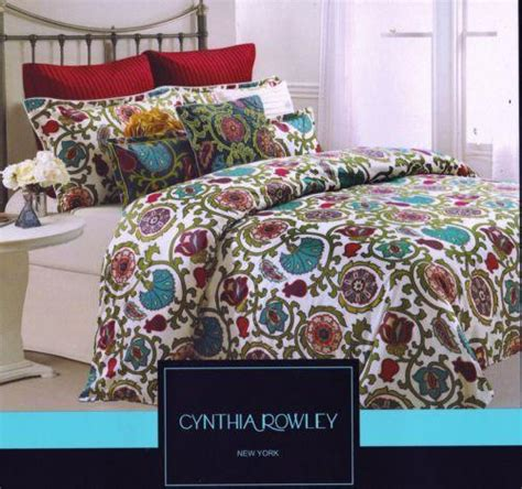 cynthia rowley bedding queen cynthia rowley queen comforter set ebay