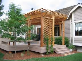 Wood Pergolas by Fort Collins Colorado Wooden Pergolas Designs Cedar Supply
