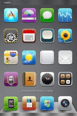 Unique Themes For Iphone | iphone theme unique by joanlo on deviantart