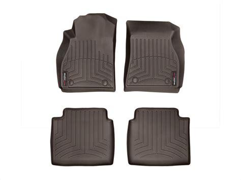 weathertech floor mats floorliner for buick lacrosse 2014 2016 cocoa ebay
