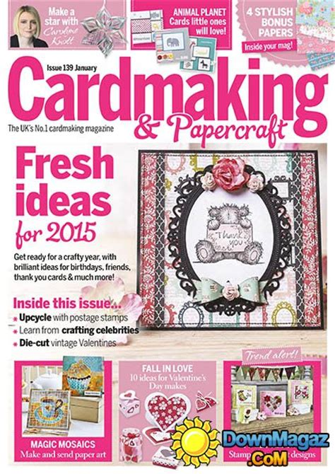 Cardmaking And Papercraft Free Downloads - cardmaking papercraft january 2015 187 pdf