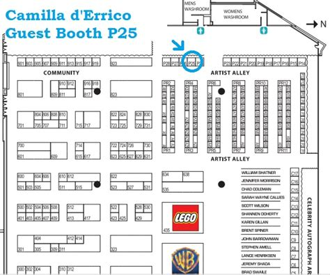 fan expo floor plan comic book artist pop surrealist creator part 2