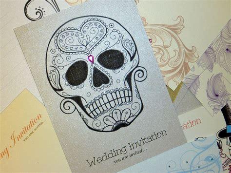 Skull Wedding Invitations