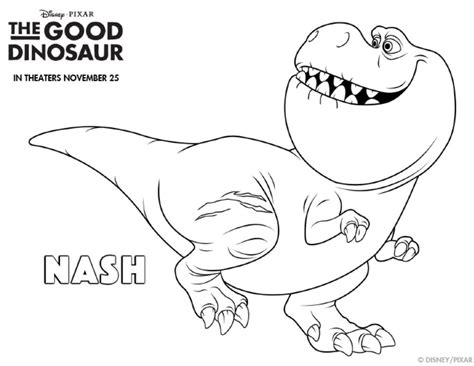 dinosaur coloring page pdf coloring pages the good dinosaur coloring pages simply