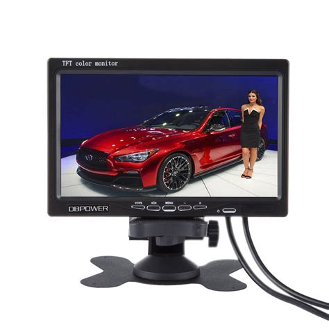 Lcd Car Monitor sale new 7 inch lcd car monitor for rear view computer tft hd digital vga av support as